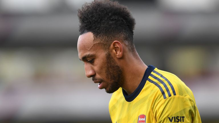 Pierre-Emerick Aubameyang will serve a three-game suspension