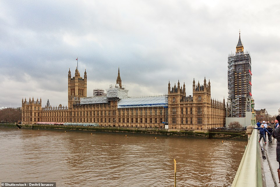 It was previously revealed one of Britain's nine confirmed coronavirus cases attended a Westminster bus conference just a stone's throw from Parliament