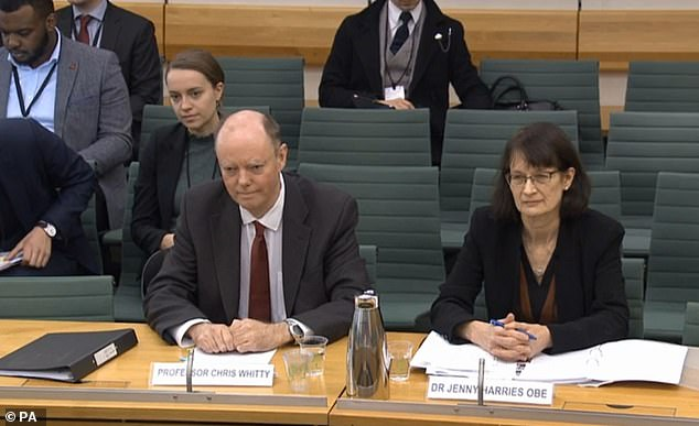 Giving evidence to the Health Select Committee, Prof Chris Whitty (pictured) said: 'I'm expecting the number only to go up.' Henry Deedes says the Prof is one 'weirdly cool hombre'