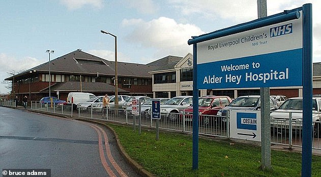A member of staff at Alder Hey said: 'We have just been sent home from Alder Hey because one of the children has got coronavirus'