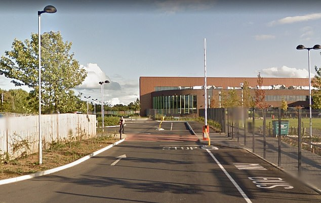 Schools including Trinity Catholic College in Middlesbrough (pictured) are already shut after pupils returned from ski trips to Northern Italy