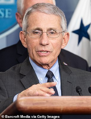 Dr Anthony Fauci, the director of the National Institute of Allergy and Infectious Diseases, said he can't make any promises about when enough test kits will be made available