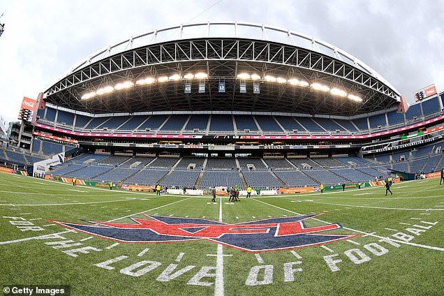 Health officials in Washington state have revealed a concessions vendor at an XFL game attended by 22,000 people tested positive for coronavirus in the Seattle area