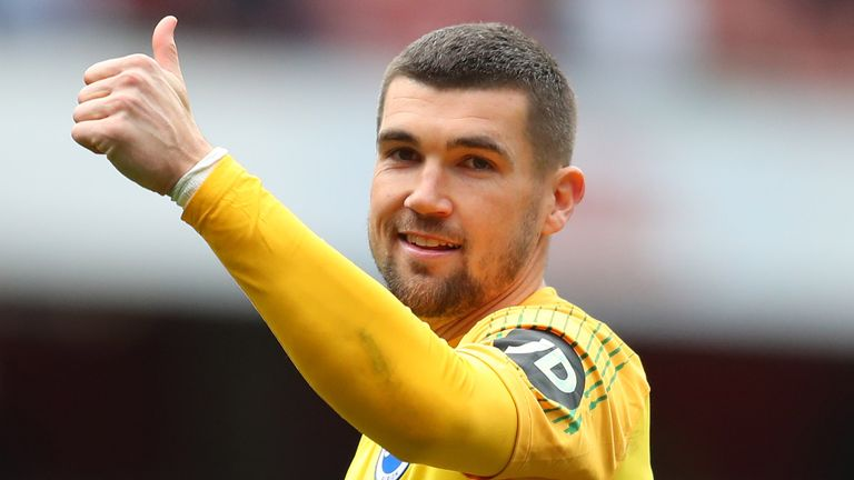 Mat Ryan has made 29 appearances for Brighton this season